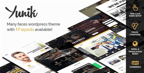 themeforest yunik yunik v1 3 ultimate multi concept wordpress theme free