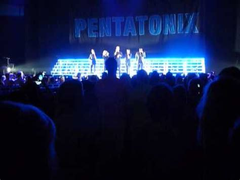 pentatonix less problem pentatonix live 8 4 15 opening and one less problem