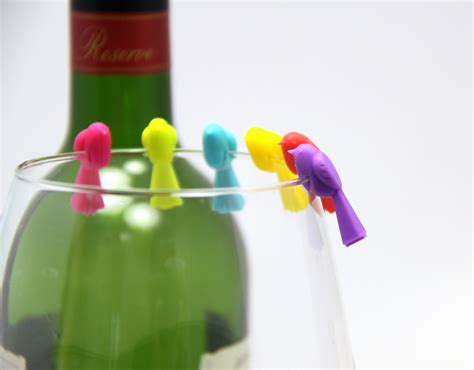 Glass Marker by Bird Wine Glass Marker Gift Concept Inc