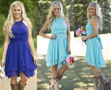 country style bridesmaids dresses 2016 sale country style turquoise bridesmaid dresses