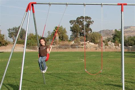 swing lifrstyle 10 ft steel metal commercial grade swing sets 4 swing