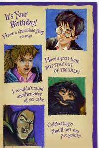 the harry potter birthday card flickr photo