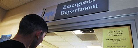 tricare emergency room why you may to pay for the er spousebuzz