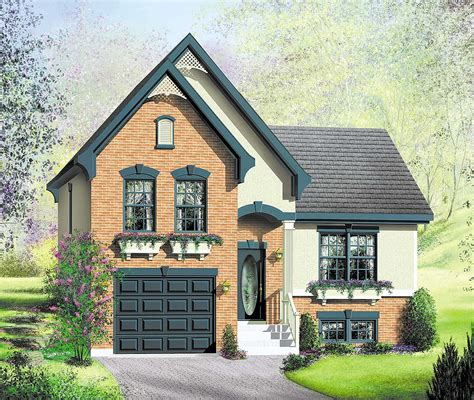 Charming House Plans by Charming Split Level House Plan 80856pm Architectural