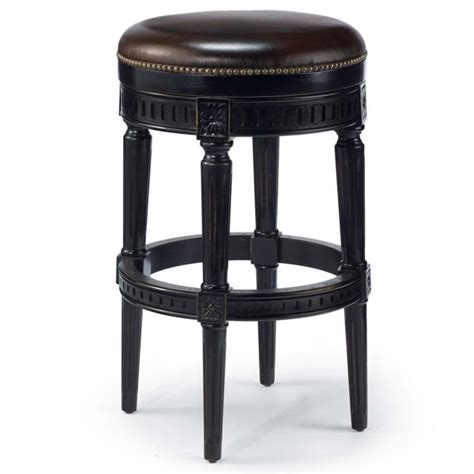 Frontgate Manchester Bar Stool by Manchester Swivel Bar Height Backless Bar Stool 30 Quot H Seat