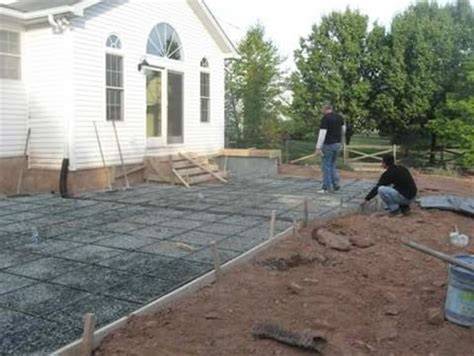 How Much To Concrete Backyard by Sted Concrete Fairfax Virginia Work Photos 703 898