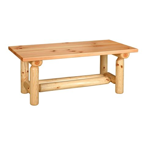 Rustic Log Coffee Table Rustic Log Pine Coffee Table King Dinettes