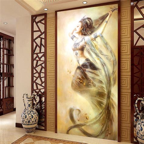3d wall home decor background canvas the