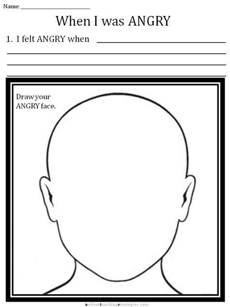 Anger Worksheets For by Cbt Children S Emotion Worksheet Series 7 Worksheets For