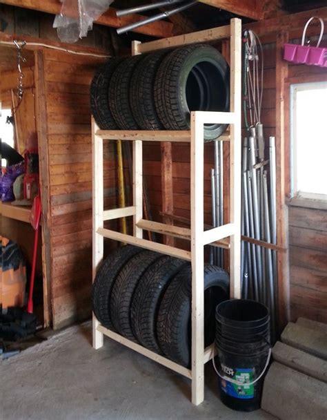 diy tire rack diy   garage tire rack garage tool storage