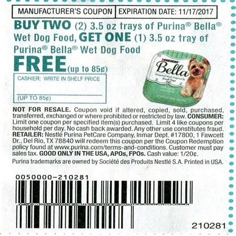 wet dog food coupons printable the happy couponer marketplace