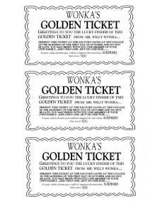 golden ticket on pinterest