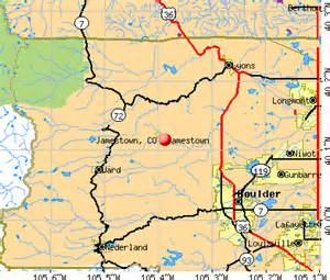 jamestown colorado map jamestown colorado co 80455 profile population maps