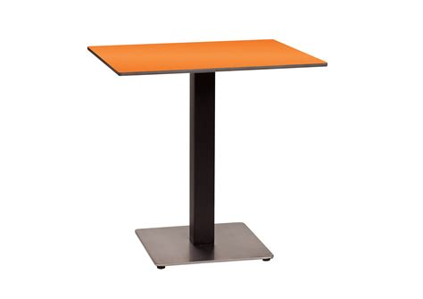 Single Leg Dining Table New 30 In Square Hpl Table Top With Rails Et T Distributors