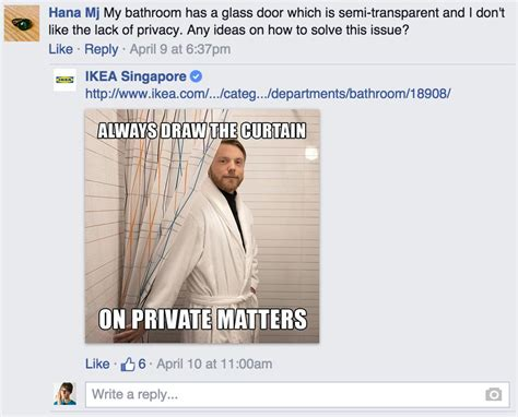 ikea puns ikea responds to customer questions on facebook with silly
