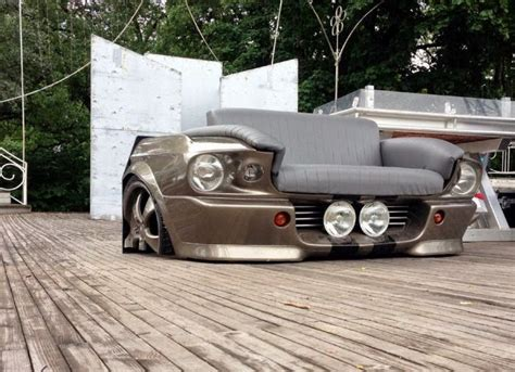 mustang car couch 1000 images about car furniture on pinterest cars