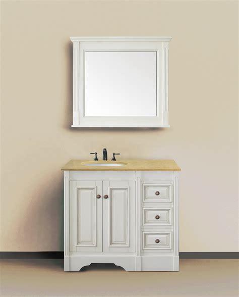 36 Antique White Bathroom Vanity by Legion 36 Inch Classic Bathroom Vanity Antique White
