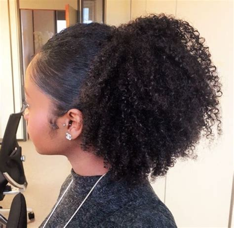 116 best half wigs ponytails with weave updo s too 38247 best natural hair styles images on pinterest