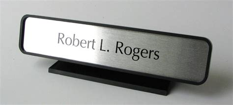 desk signs for office desk signs and front counter nameplates desk name plates