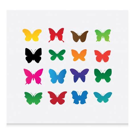 imagenes mariposas siluetas siluetas de mariposas a color descargar vectores gratis