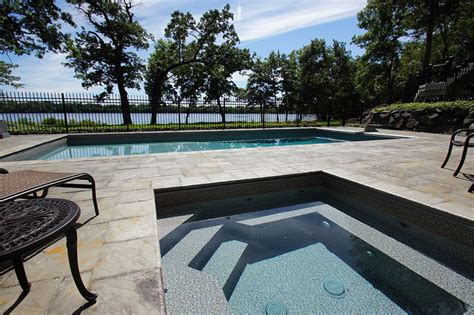 Backyard Pools Mn Minneapolis St Paul Minnesota Swimming Pool Design