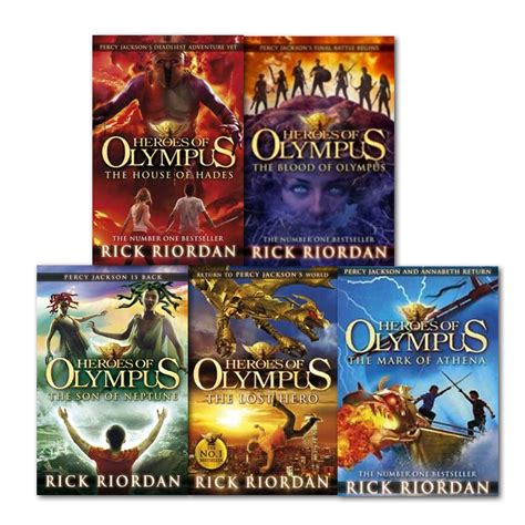 blood the rick cahill series books heroes of olympus series children 5 books collection set