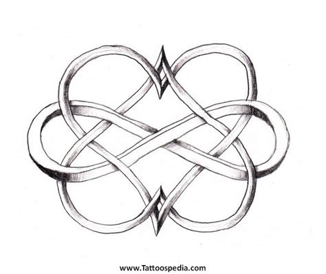 interlocking hearts tattoo designs 51 best infinity and tattoos images on