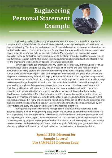 examples of personal essays for graduate school writing a