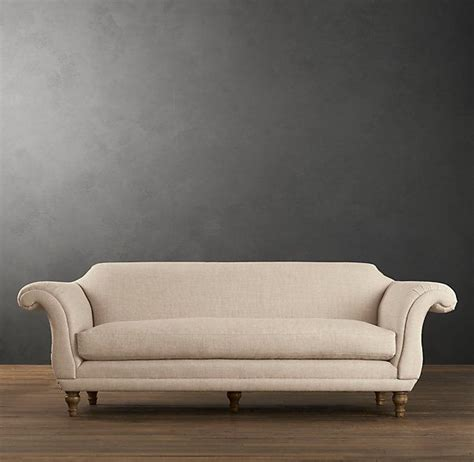 restoration hardware replica sofa regency upholstered sofa a 19th century british hybrid of
