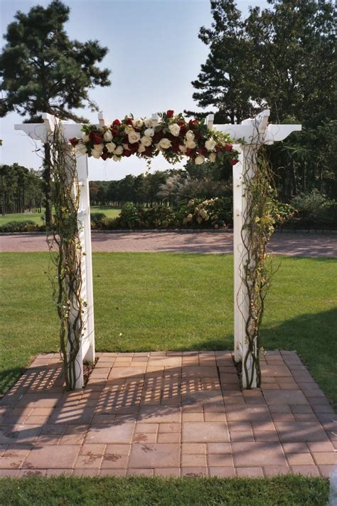 Linh's blog: Wedding Archway hot pink