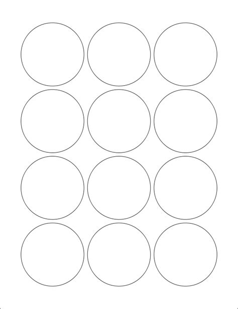 free clipart wl 8750 circle label template worldlabel