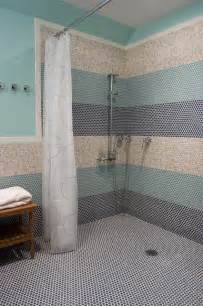 teal wall floor in bathroom color theme with modern style