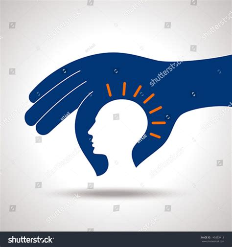 new idea human head thinking a new idea stock vector illustration