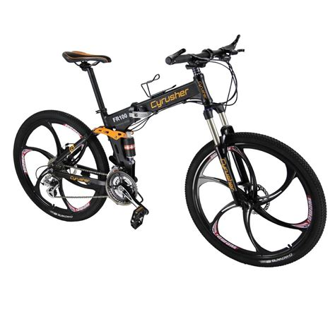 best foldable bike cyrusher fr100 folding mountain bike review best folding