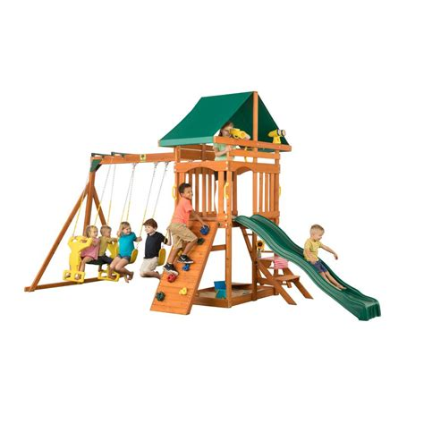 cedar view swing set creative cedar designs sky view swingset shop your way