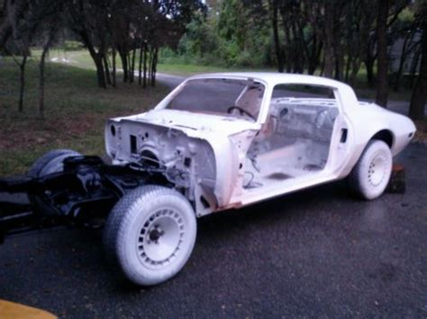 sell   pontiac trans  partially restored