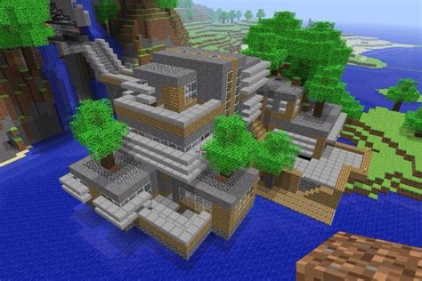 minecraft awesome house minecraft cool creations houses www imgkid com the image kid has it