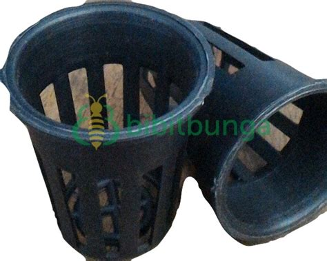 Netpot Pot Hidroponik Hitam 5 Cm jual net pot hidroponik 5 cm harga dijamin murah ecer