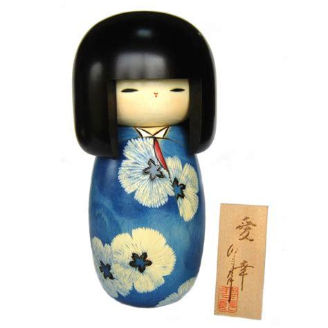 Handmade Japan - japanese doll wooden kokeshi handmade in japan aiko