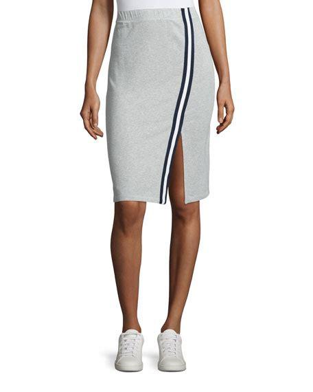 Side Slit Pencil Skirt splendid varsity active side slit pencil skirt