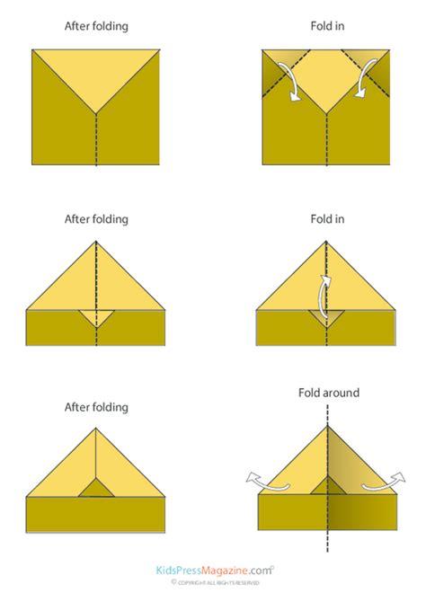 How To Make Paper Lock - paper airplane nakamura lock