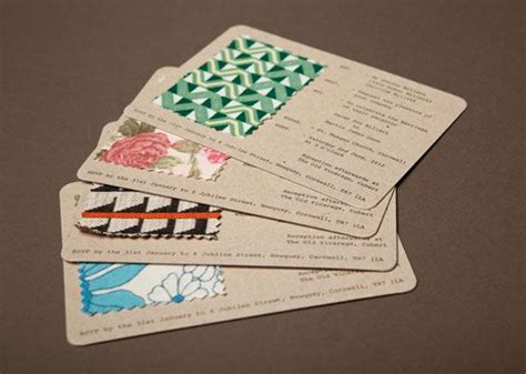 Unique Ways To Seal Wedding Invitations by 25 Best Ideas About Fabric Swatches On Craft