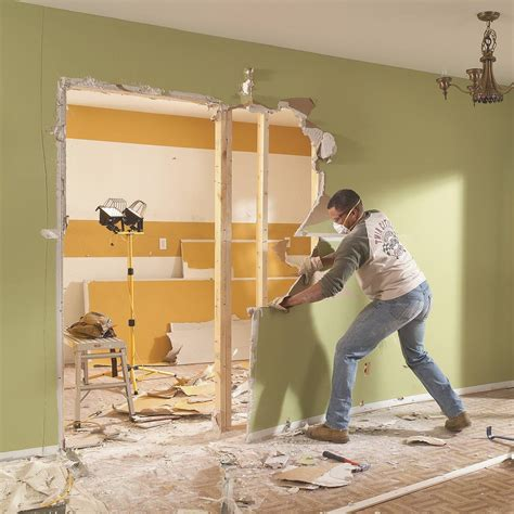 how much is it to plaster a room 35 diy demolition tips you need to the family handyman