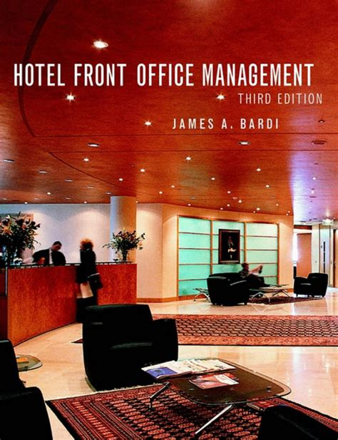 hotel front desk system hotel front office management 3rd edition