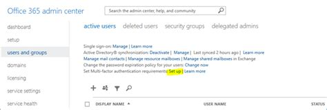 Office 365 Portal Browser Requirements Office 365 Evangelist 187 Enabling And Configuring Multi