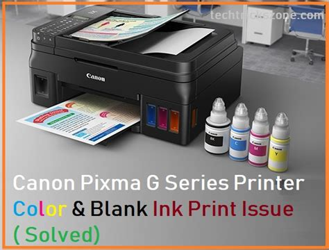 printer not printing in color black color not printing on canon pixma g1000 ink tank