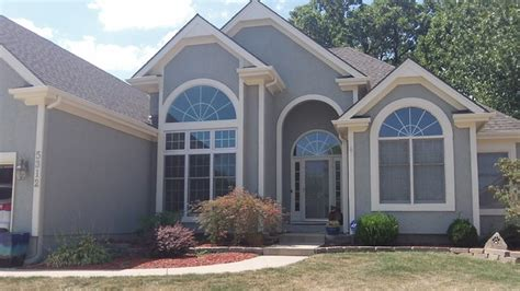 exterior home design kansas city exterior house painting in kc northland