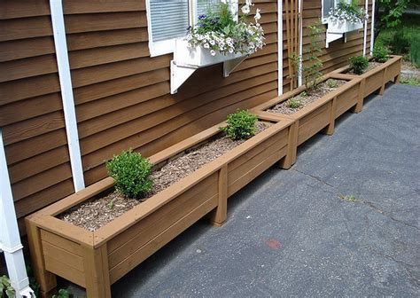 How To Build Large Planter Boxes by Garden Planter Box Plans How To Make Wooden Planter