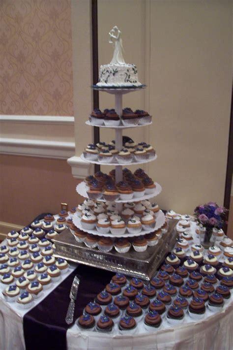 Elegant Wedding Cupcake Display triflescakes.com   Trifles