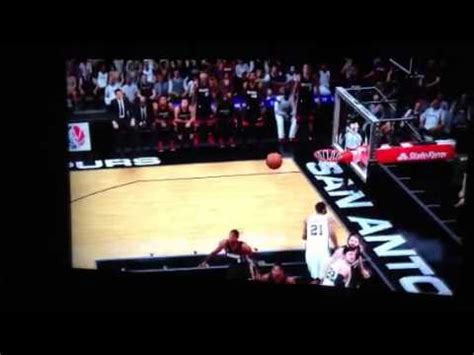 kawhi leonard top 10 plays of career youtube kawhi leonard inbound shot nba 2k15 youtube